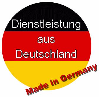 Dienstleistung und Qualität aus Deutschland