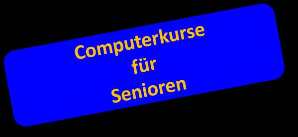 Computerkurse für 50+ und Senioren